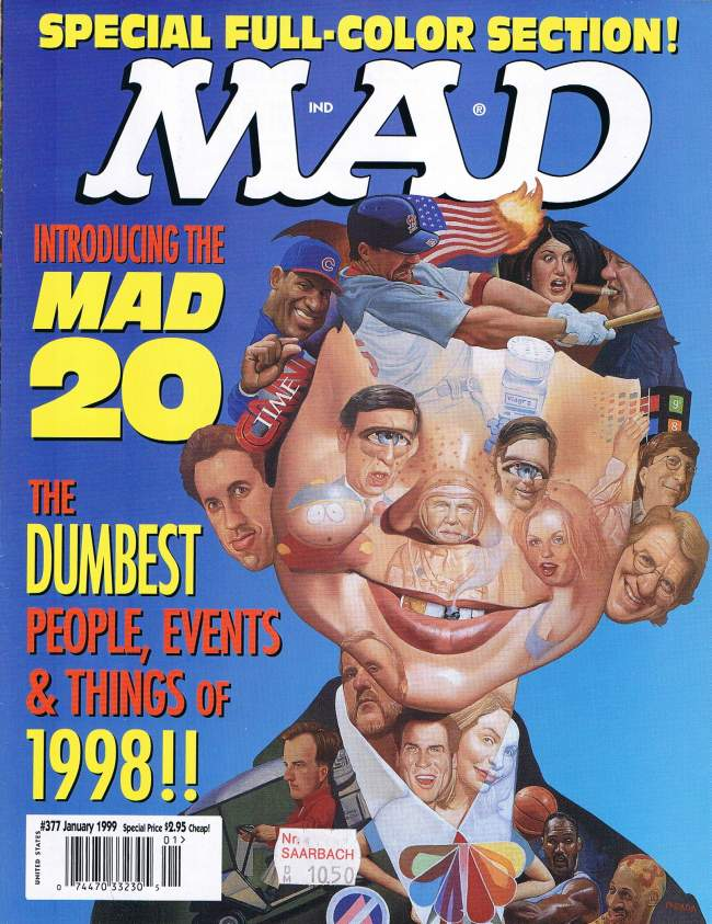 MAD Magazine #377 • USA • 1st Edition - New York