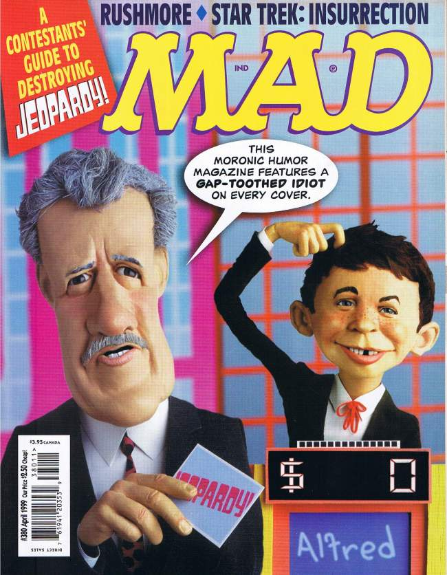 MAD Magazine #380 • USA • 1st Edition - New York