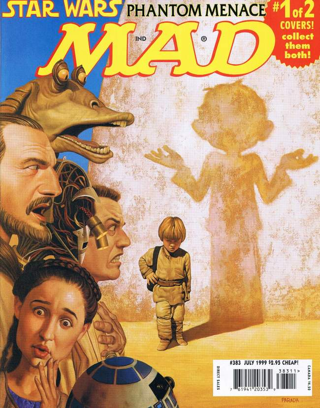 MAD Magazine #383 • USA • 1st Edition - New York
