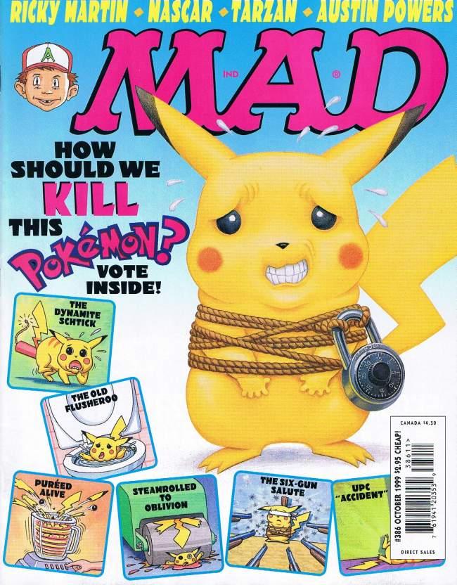 MAD Magazine #386 • USA • 1st Edition - New York