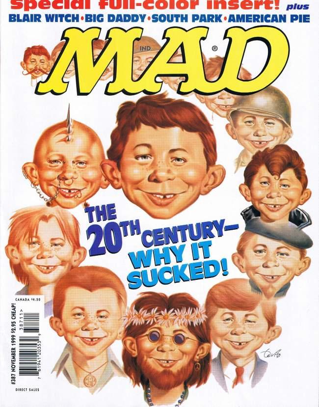 MAD Magazine #387 • USA • 1st Edition - New York