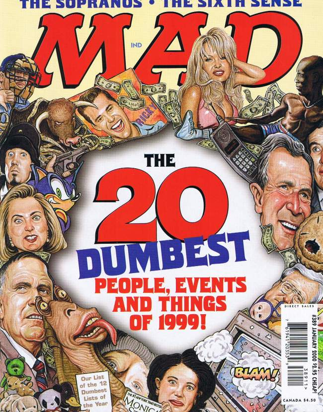 MAD Magazine #389 • USA • 1st Edition - New York