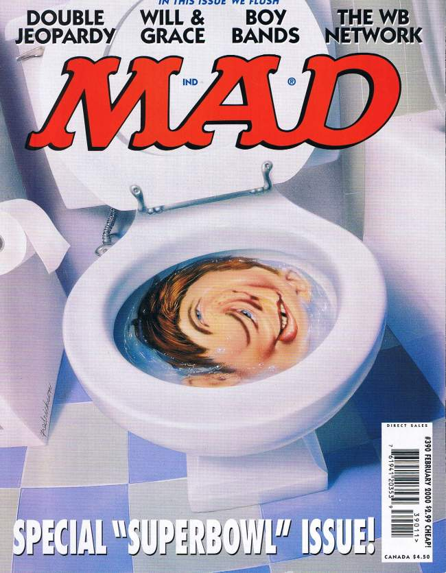 MAD Magazine #390 • USA • 1st Edition - New York
