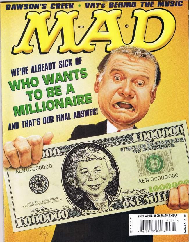 MAD Magazine #392 • USA • 1st Edition - New York