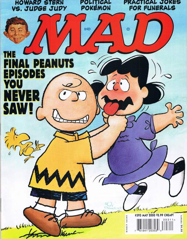 MAD Magazine #393 • USA • 1st Edition - New York