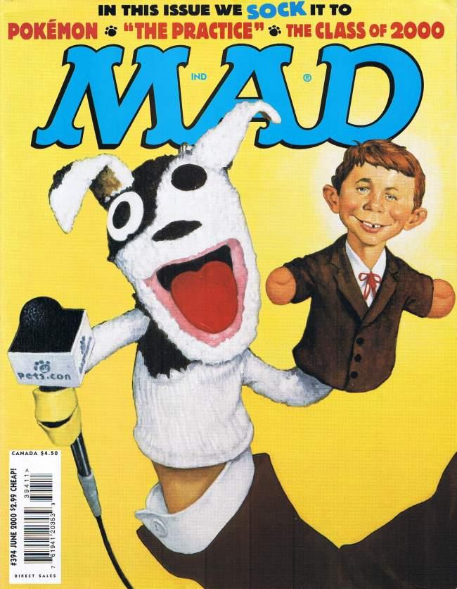 MAD Magazine #394 • USA • 1st Edition - New York