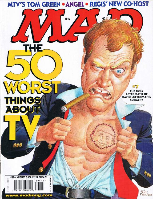 MAD Magazine #396 • USA • 1st Edition - New York