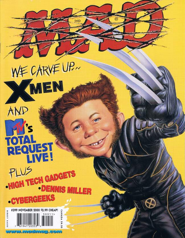 MAD Magazine #399 • USA • 1st Edition - New York