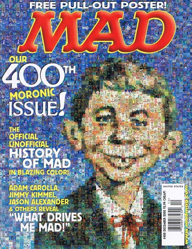 MAD Magazine #400 • USA • 1st Edition - New York
