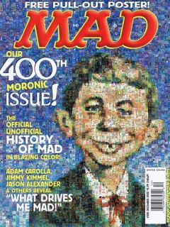 Go to MAD Magazine #400 • USA • 1st Edition - New York