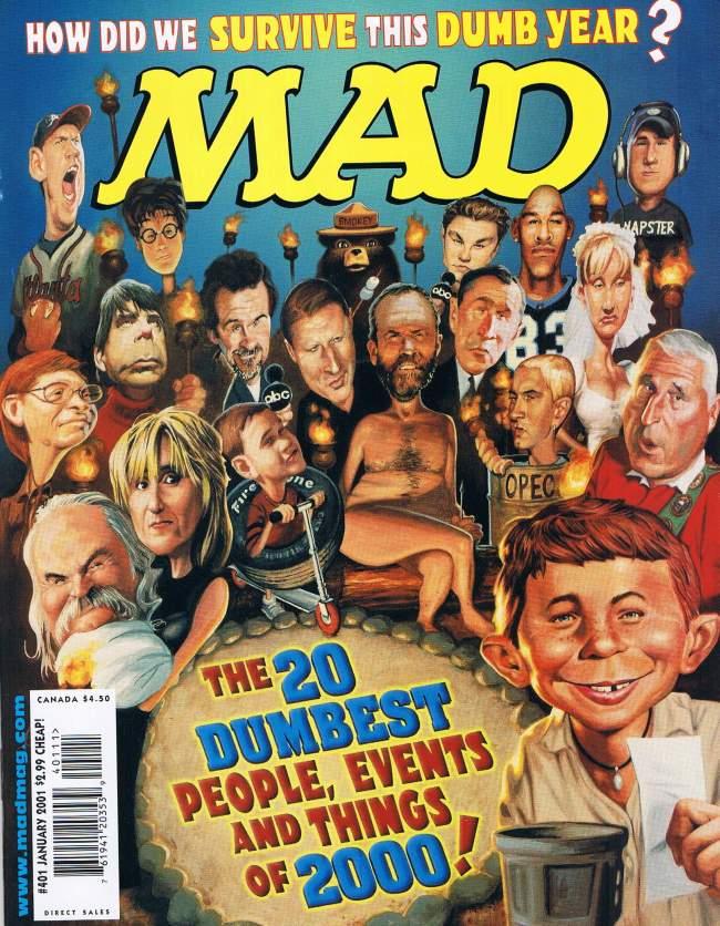 MAD Magazine #401 • USA • 1st Edition - New York