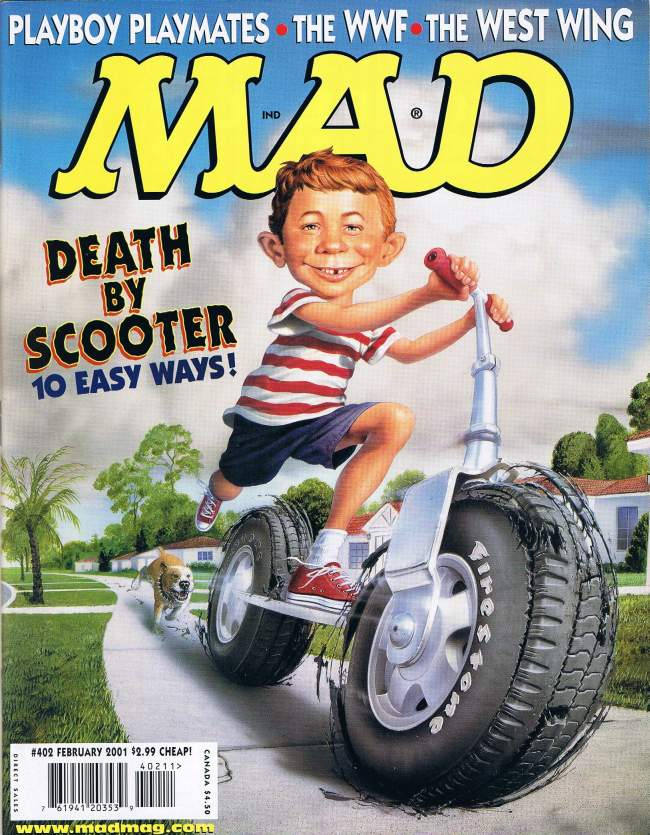 MAD Magazine #402 • USA • 1st Edition - New York