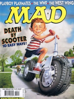 Go to MAD Magazine #402 • USA • 1st Edition - New York