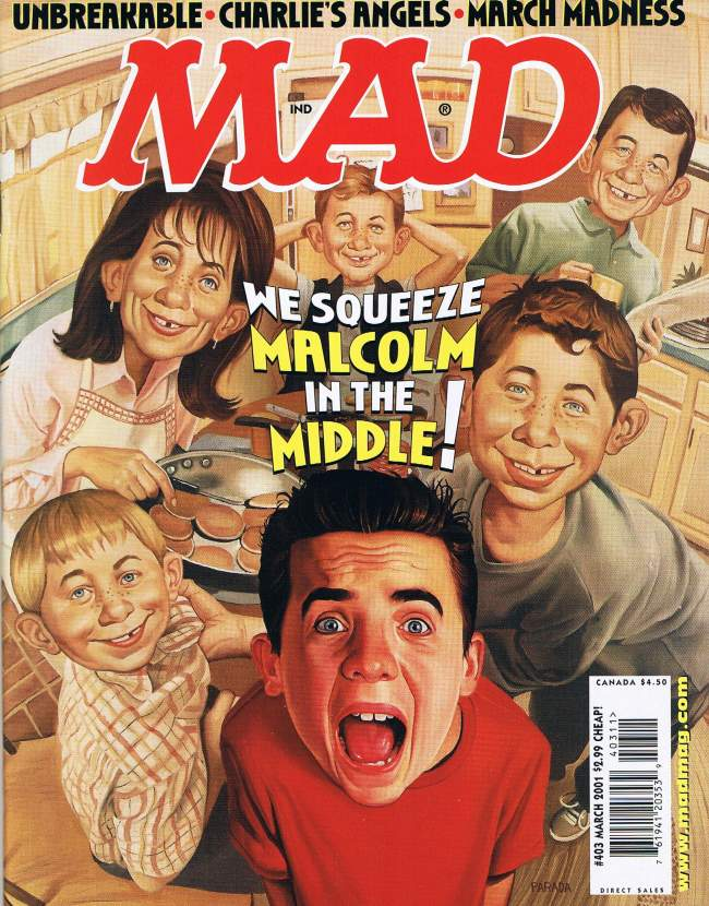 MAD Magazine #403 • USA • 1st Edition - New York