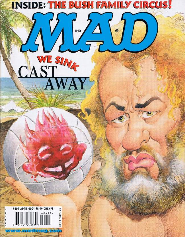 MAD Magazine #404 • USA • 1st Edition - New York