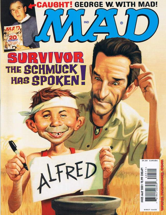 MAD Magazine #405 • USA • 1st Edition - New York