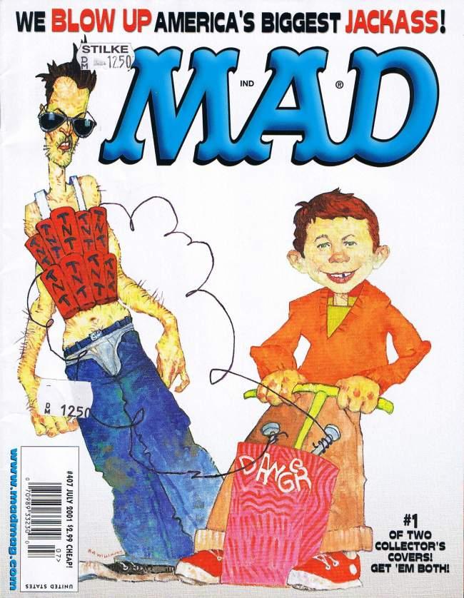 MAD Magazine #407 • USA • 1st Edition - New York