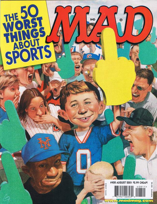 MAD Magazine #408 • USA • 1st Edition - New York