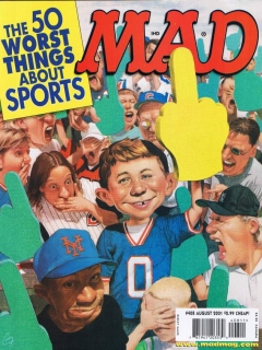 Go to MAD Magazine #408 • USA • 1st Edition - New York