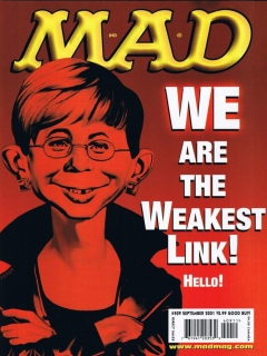 Go to MAD Magazine #409 • USA • 1st Edition - New York