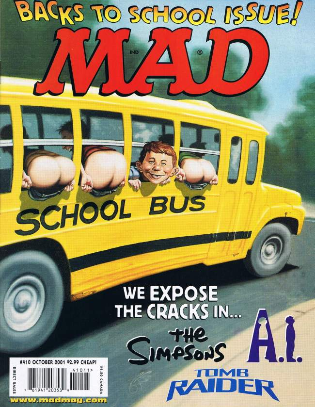 MAD Magazine #410 • USA • 1st Edition - New York
