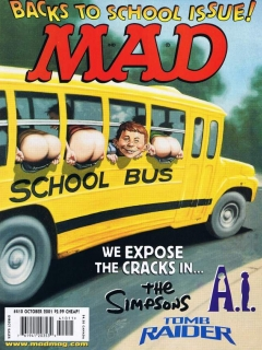 Go to MAD Magazine #410 • USA • 1st Edition - New York