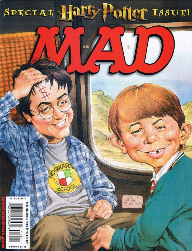 MAD Magazine #412 • USA • 1st Edition - New York