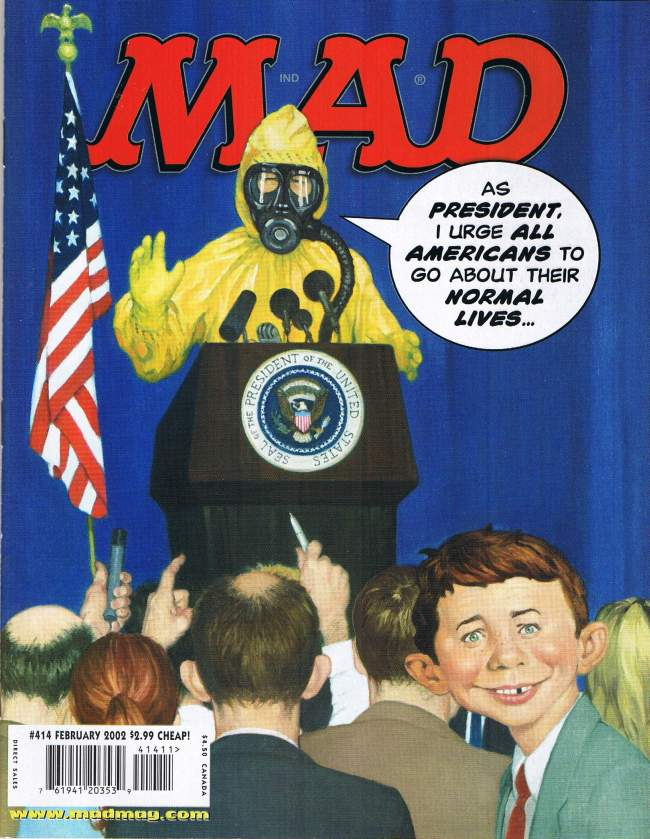 MAD Magazine #414 • USA • 1st Edition - New York