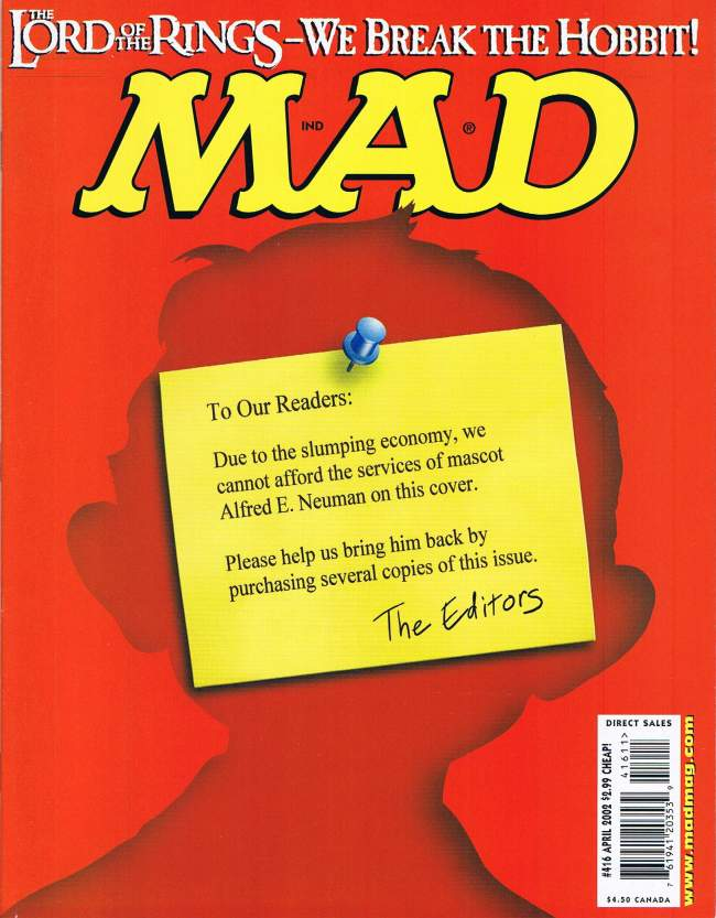 MAD Magazine #416 • USA • 1st Edition - New York