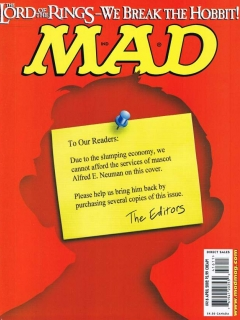 Go to MAD Magazine #416 • USA • 1st Edition - New York