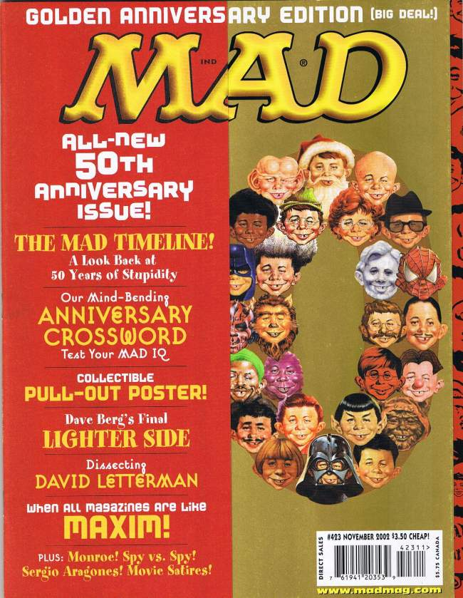 MAD Magazine #423 • USA • 1st Edition - New York