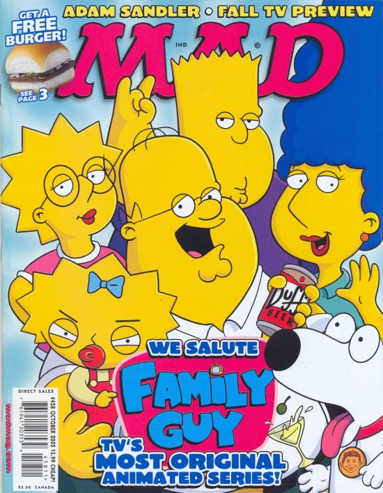 MAD Magazine #458 • USA • 1st Edition - New York
