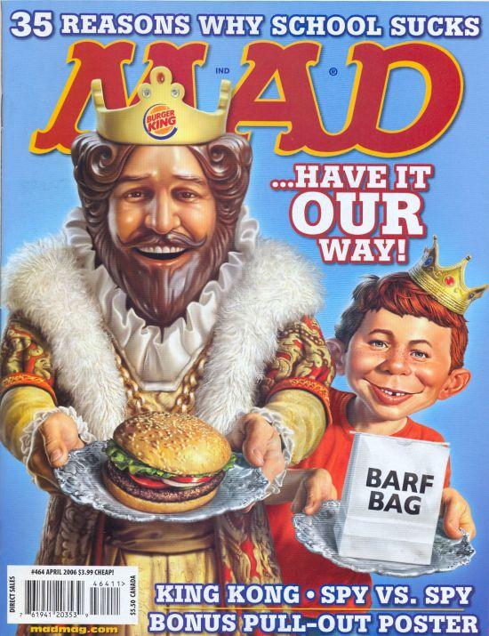 MAD Magazine #464 • USA • 1st Edition - New York