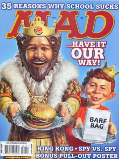 Go to MAD Magazine #464