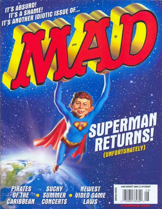 MAD Magazine #468 • USA • 1st Edition - New York