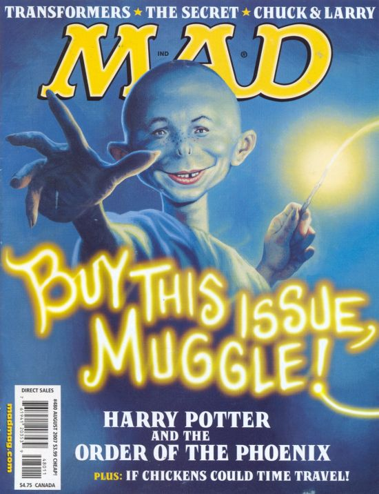 MAD Magazine #480 • USA • 1st Edition - New York