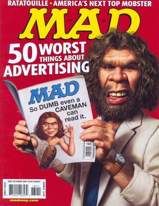 MAD Magazine #482 • USA • 1st Edition - New York