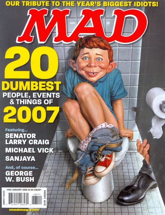 MAD Magazine #485 • USA • 1st Edition - New York