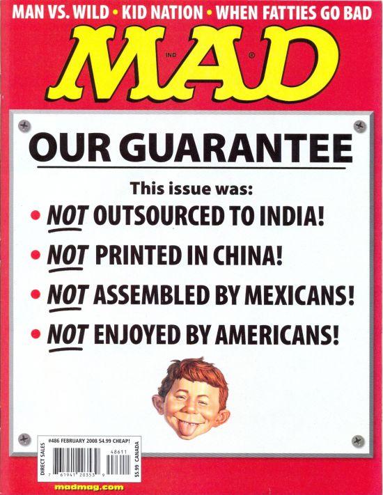 MAD Magazine #486 • USA • 1st Edition - New York