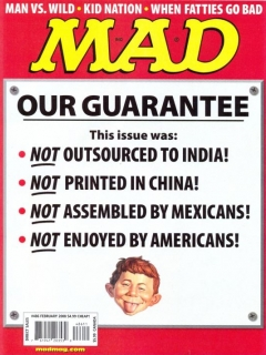 Go to MAD Magazine #486