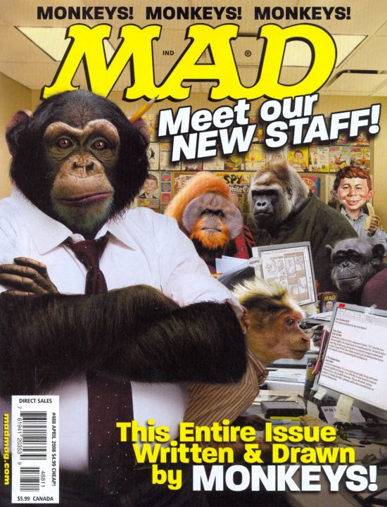MAD Magazine #488 • USA • 1st Edition - New York
