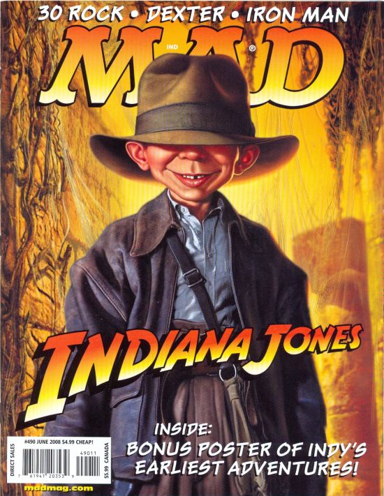 MAD Magazine #490 • USA • 1st Edition - New York