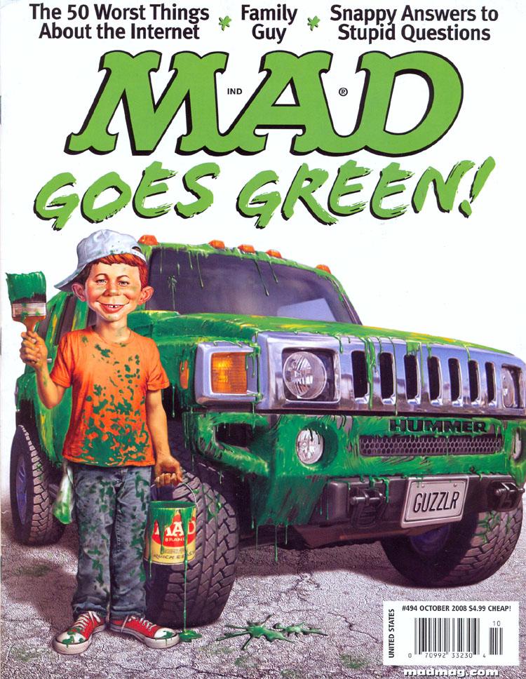MAD Magazine #494 • USA • 1st Edition - New York