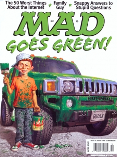 Go to MAD Magazine #494