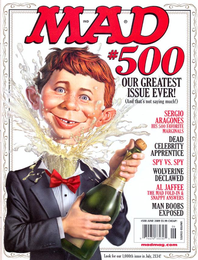 MAD Magazine #500 • USA • 1st Edition - New York