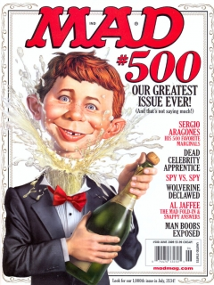 Go to MAD Magazine #500