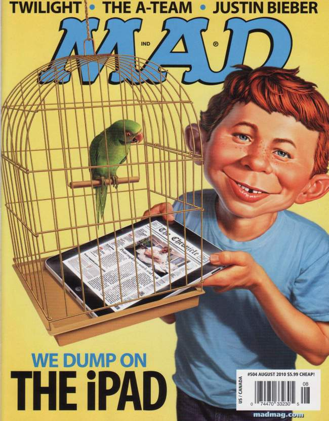 MAD Magazine #504 • USA • 1st Edition - New York