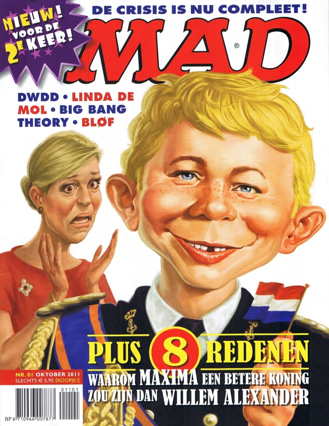 MAD Magazine #1 • Netherlands • 2nd Edition - Don Lawrence Collection
