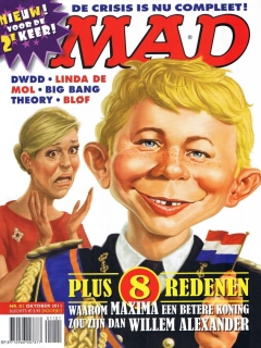 Go to MAD Magazine #1 • Netherlands • 2nd Edition - Don Lawrence Collection