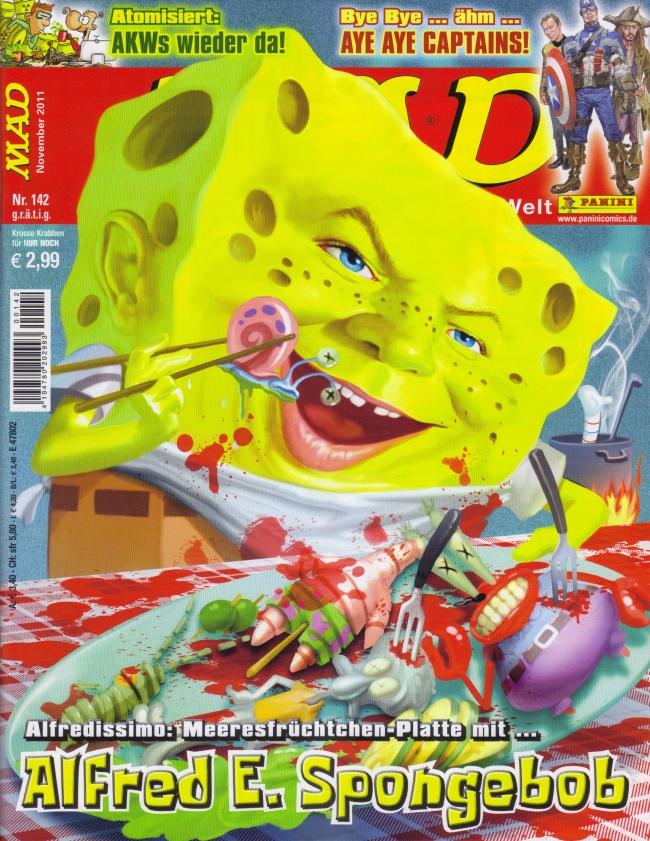 MAD Magazine #142 • Germany • 2nd Edition - Dino/Panini